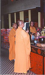 Buddhist-led Funeral
