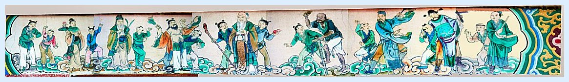 Mural of the Eight Immortals