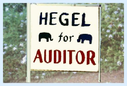 Hegel for Auditor